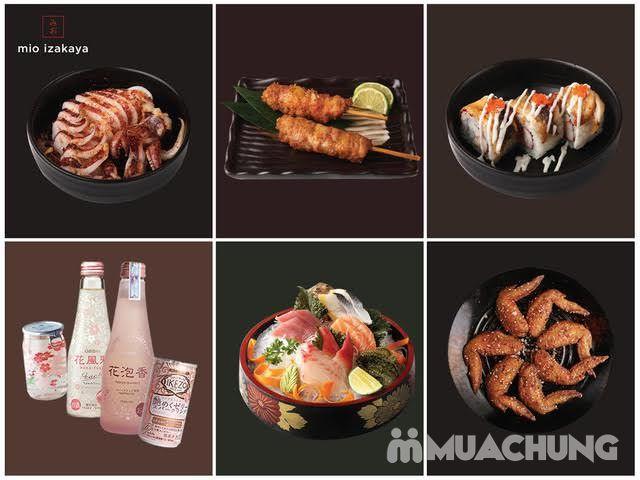 Voucher giảm giá toàn menu - NH Nhật Mio Izakaya - 1
