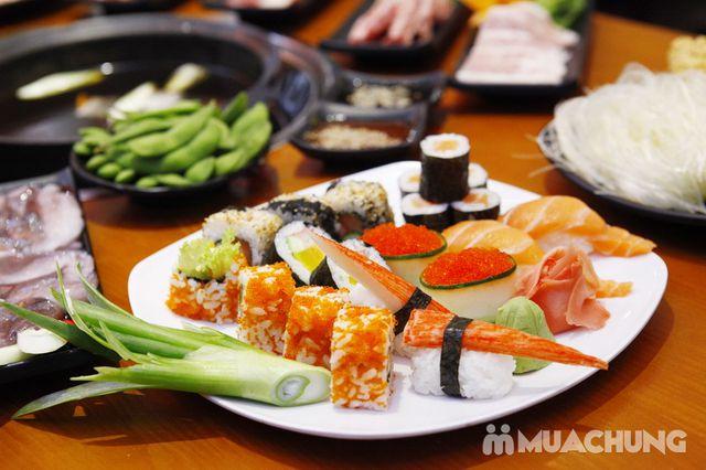 Buffet lẩu& sushi Yaki Times Ciy thơm ngon đặc sắc - 30