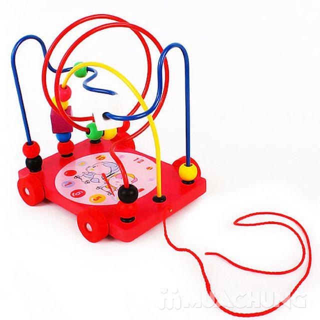 Xe luồn hạt có dây kéo - Đồ chơi an toàn Vivitoys - 5