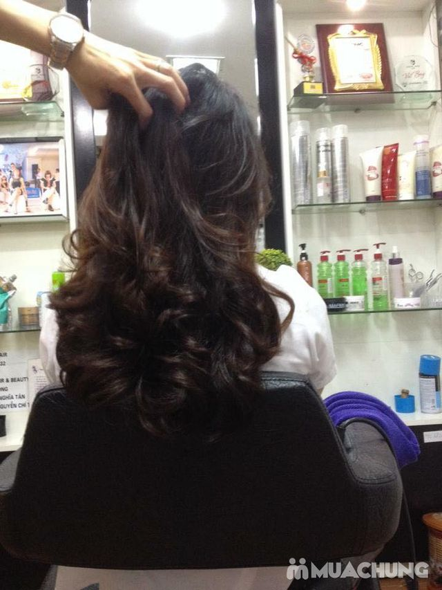 Trọn gói làm tóc Uốn/ Ép/ Nhuộm - Tặng tinh dầu - 33