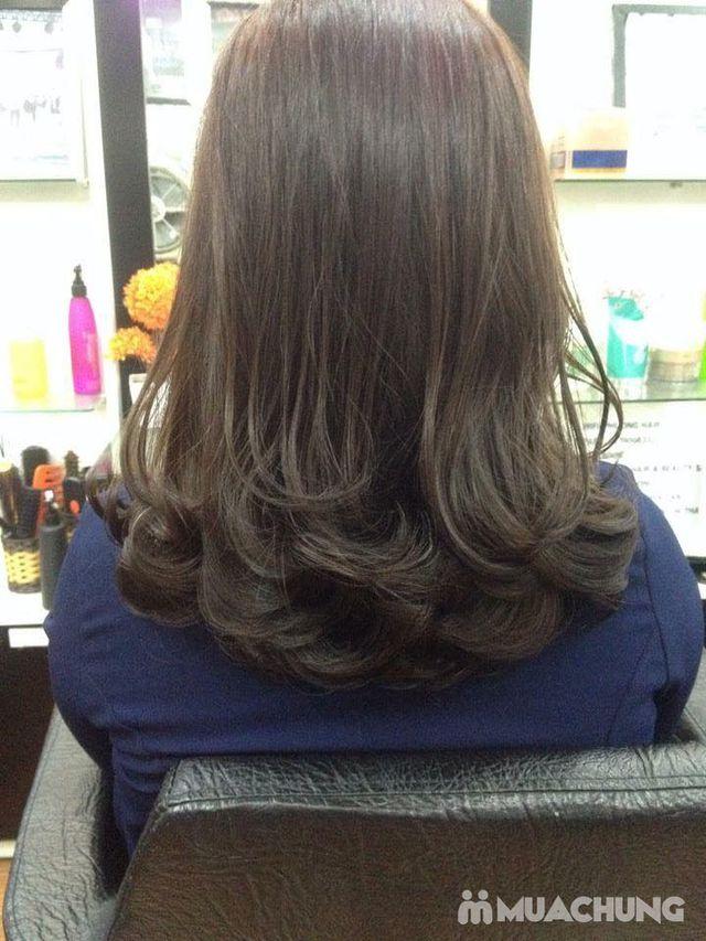Trọn gói làm tóc Uốn/ Ép/ Nhuộm - Tặng tinh dầu - 19