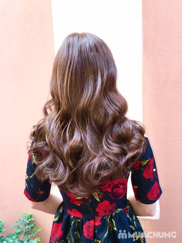Trọn gói làm tóc Uốn/ Ép/ Nhuộm - Tặng tinh dầu - 24