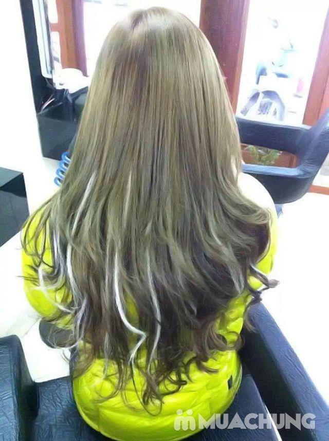 Trọn gói làm tóc Uốn/ Ép/ Nhuộm - Tặng tinh dầu - 36