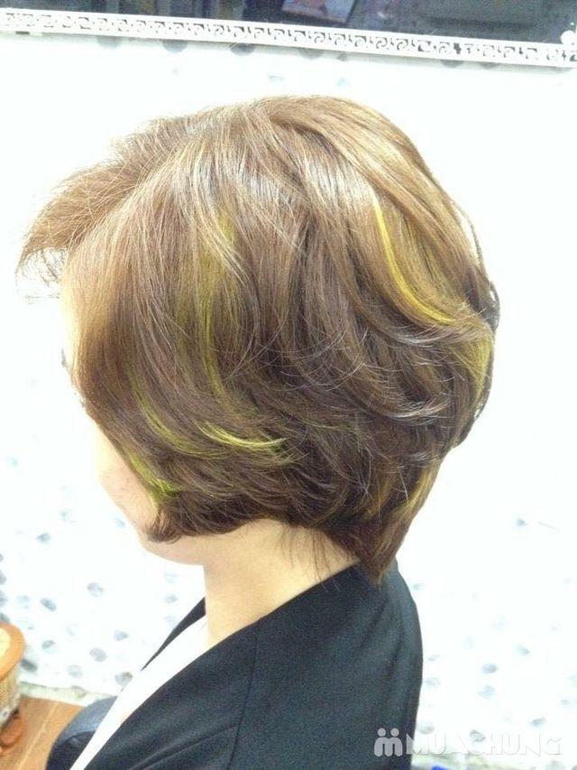 Trọn gói làm tóc Uốn/ Ép/ Nhuộm - Tặng tinh dầu - 34
