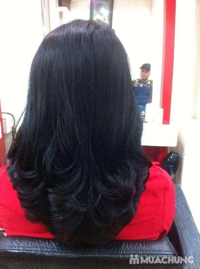 Trọn gói làm tóc Uốn/ Ép/ Nhuộm - Tặng tinh dầu - 16