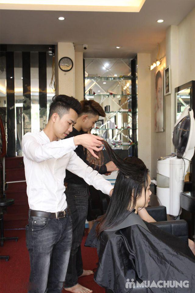 Trọn gói làm tóc Uốn/ Ép/ Nhuộm - Tặng tinh dầu - 38