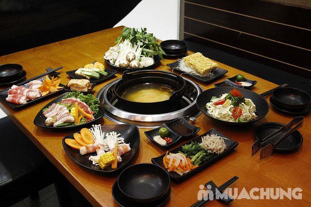 Buffet lẩu& sushi Yaki Times Ciy thơm ngon đặc sắc - 1