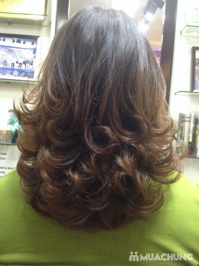 Trọn gói làm tóc Uốn/ Ép/ Nhuộm - Tặng tinh dầu - 25