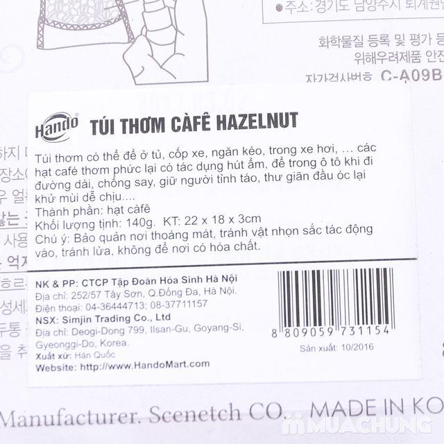 Túi thơm treo xe & tinh dầu Hazelnut hương cà phê - 2