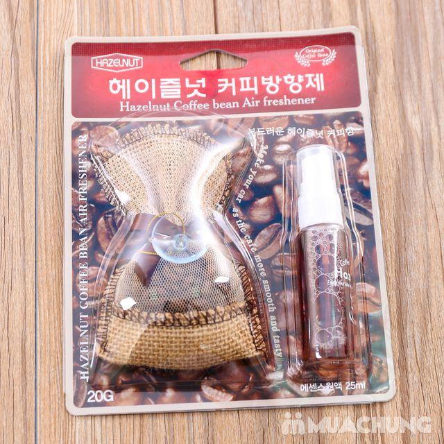 Túi thơm treo xe & tinh dầu Hazelnut hương cà phê - 1