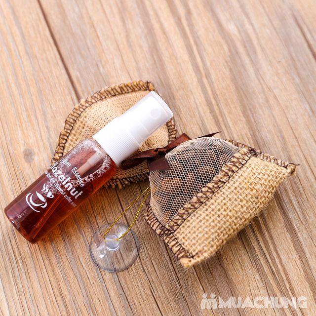 Túi thơm treo xe & tinh dầu Hazelnut hương cà phê - 4