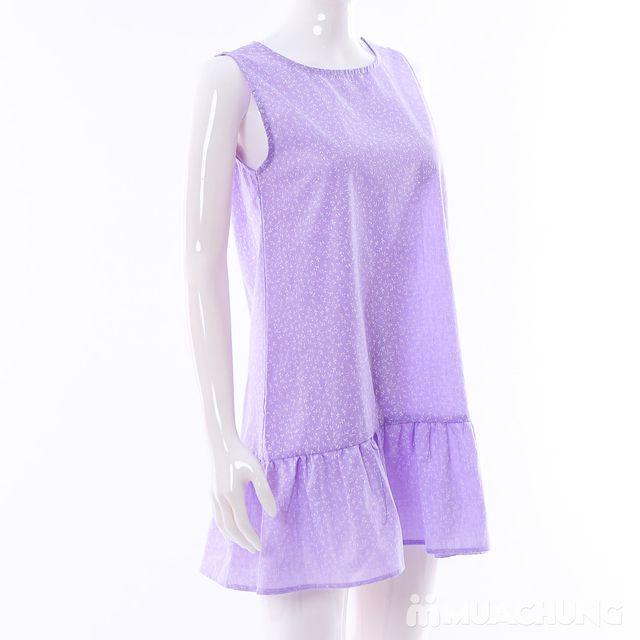Váy dáng chữ A đuôi cá hoa nhí điệu đà cho bạn gái - 13