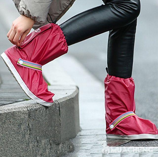 Đôi ủng đi mưa loại dày nhiều họa tiết tiện dụng - 17