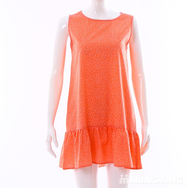 Váy dáng chữ A đuôi cá hoa nhí điệu đà cho bạn gái - 11