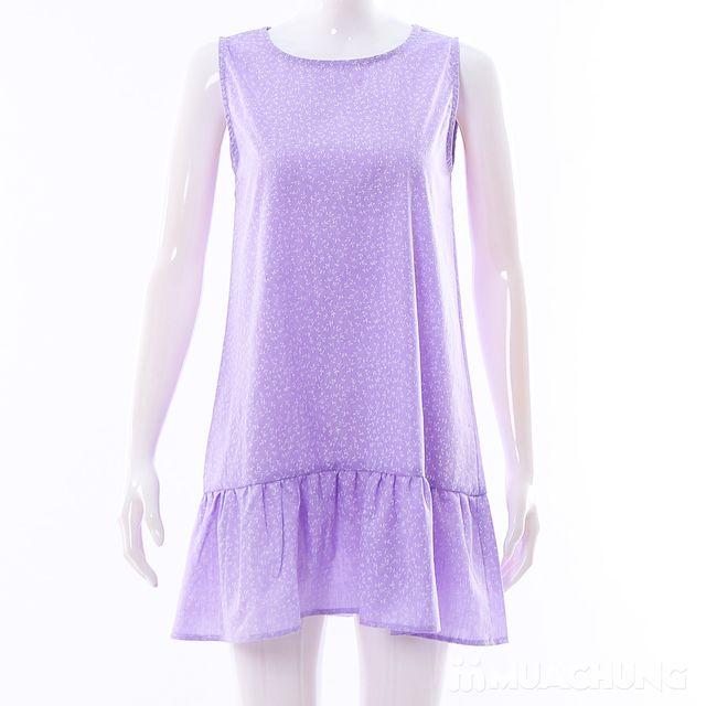 Váy dáng chữ A đuôi cá hoa nhí điệu đà cho bạn gái - 12