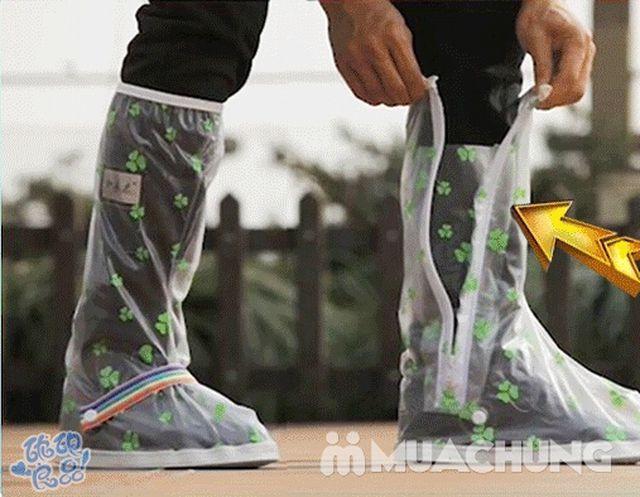 Đôi ủng đi mưa loại dày nhiều họa tiết tiện dụng - 8