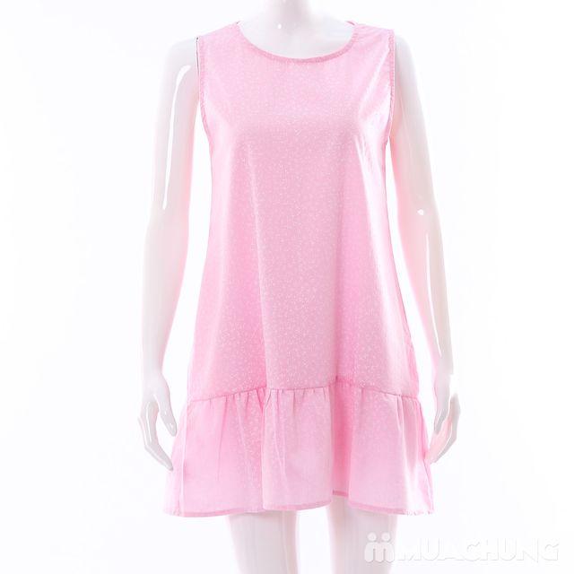 Váy dáng chữ A đuôi cá hoa nhí điệu đà cho bạn gái - 6