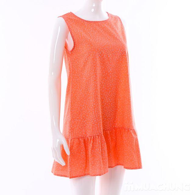 Váy dáng chữ A đuôi cá hoa nhí điệu đà cho bạn gái - 15