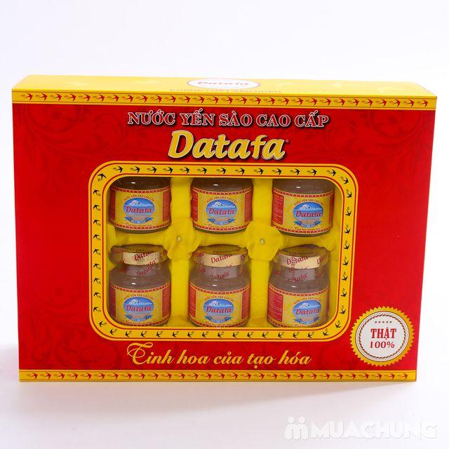 Hộp 6 lọ Yến sào Datafa cao cấp - Tinh hoa tạo hóa - 5