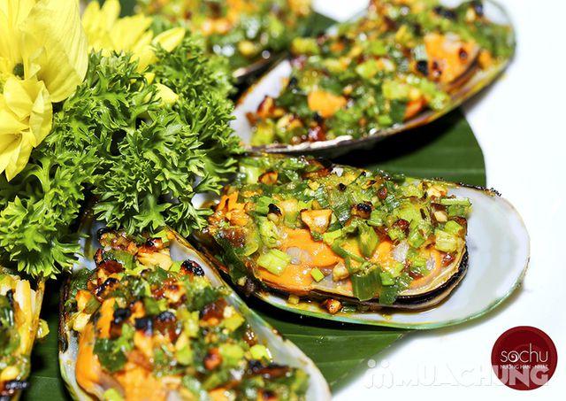 Buffet nướng lẩu hải sản đẳng cấp Nhà hàng Sochu - 11