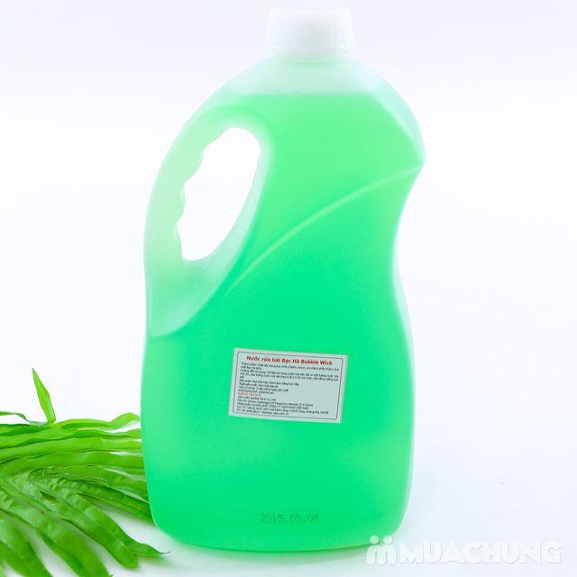 Nước rửa bát bạc hà 2,5L sạch dầu mỡ - NK Hàn Quốc - 11