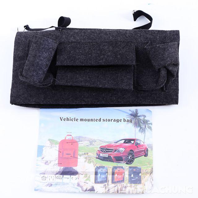 Túi đựng đồ nhiều ngăn treo sau ghế ô tô tiện dụng - 14