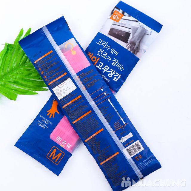 2 đôi găng tay cao su có móc treo - NK Hàn Quốc - 6