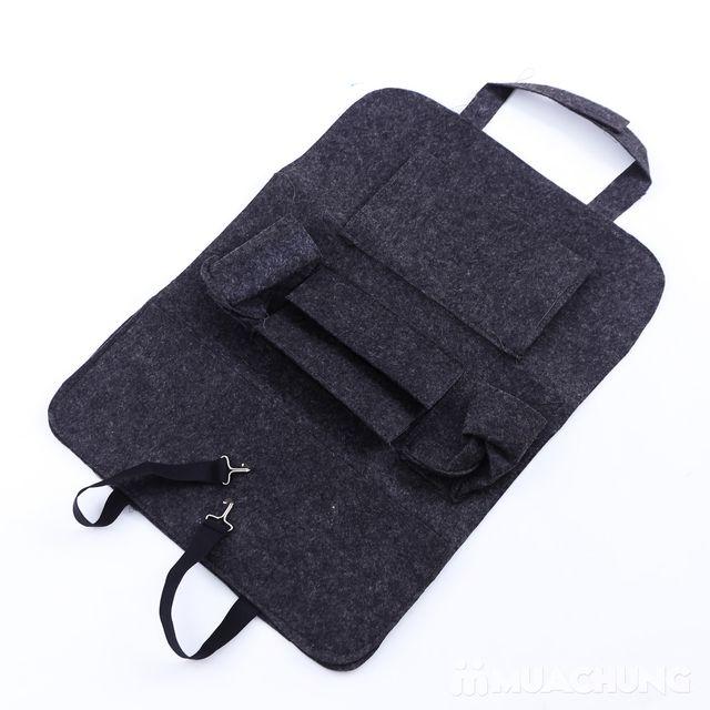 Túi đựng đồ nhiều ngăn treo sau ghế ô tô tiện dụng - 13