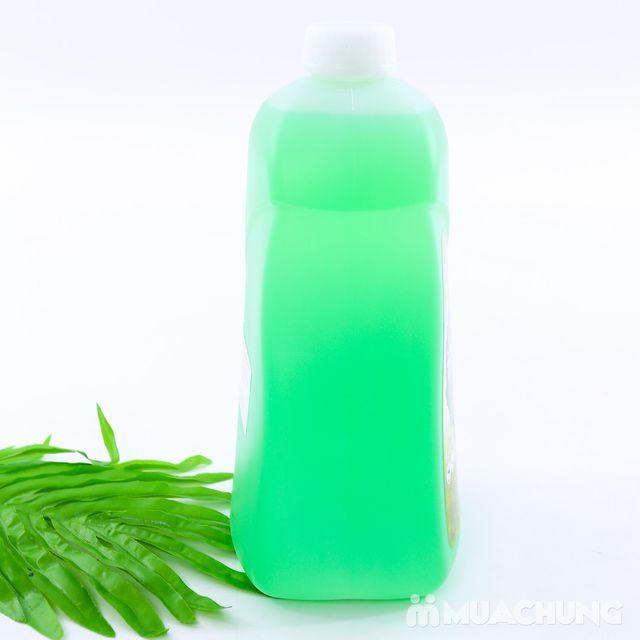 Nước rửa bát bạc hà 2,5L sạch dầu mỡ - NK Hàn Quốc - 8
