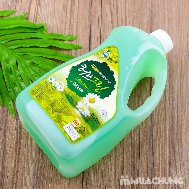 Nước rửa bát bạc hà 2,5L sạch dầu mỡ - NK Hàn Quốc - 10