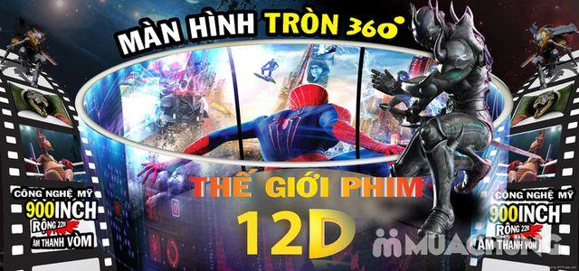 Vé xem phim 12D màn hình tròn tại X360 Cinema - 5