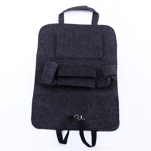Túi đựng đồ nhiều ngăn treo sau ghế ô tô tiện dụng - 7