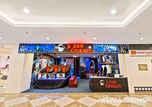 Vé xem phim 12D màn hình tròn tại X360 Cinema - 3