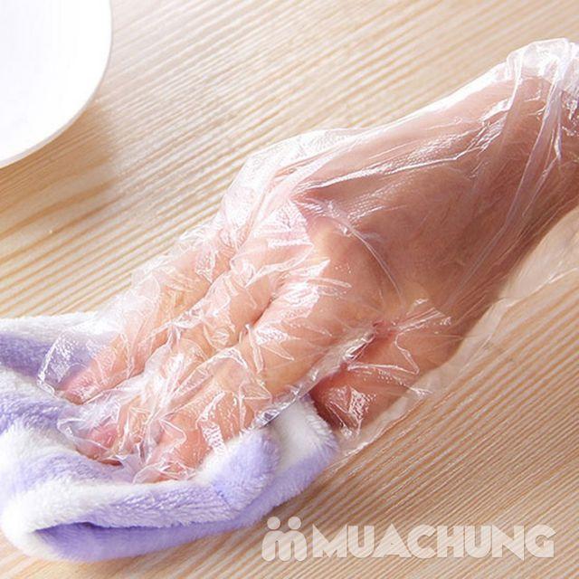 3 hộp găng tay nilon dùng 1 lần MyungJin- Hàn Quốc - 6