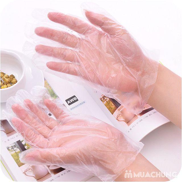 3 hộp găng tay nilon dùng 1 lần MyungJin- Hàn Quốc - 7
