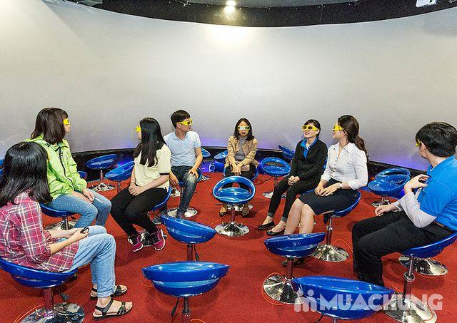 Vé xem phim 12D màn hình tròn tại X360 Cinema - 1