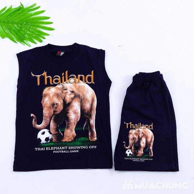 Bộ ba lỗ quần đùi bé trai hàng Thái Lan - 2