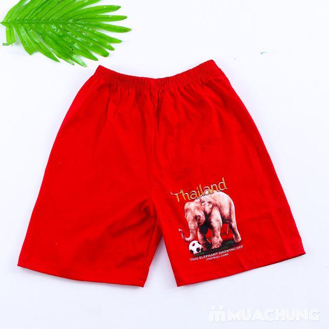 Bộ ba lỗ quần đùi bé trai hàng Thái Lan - 5