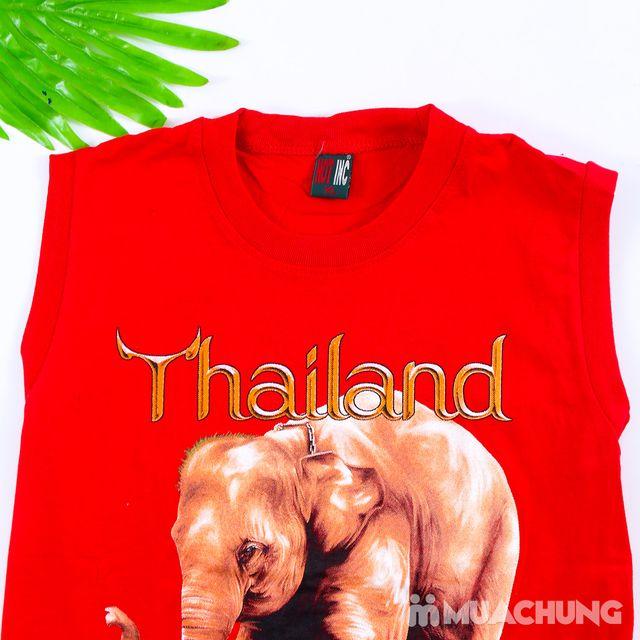 Bộ ba lỗ quần đùi bé trai hàng Thái Lan - 4