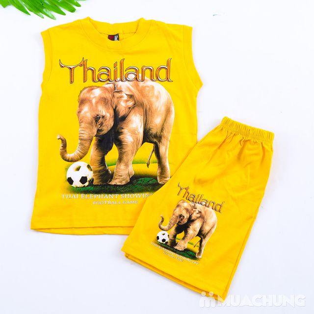 Bộ ba lỗ quần đùi bé trai hàng Thái Lan - 7