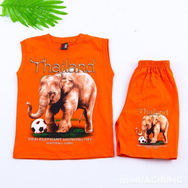 Bộ ba lỗ quần đùi bé trai hàng Thái Lan - 6