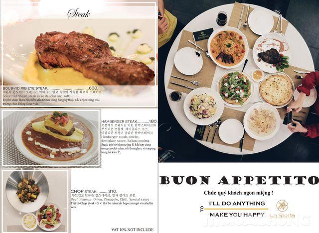 Voucher giảm giá ăn thỏa thích món Âu La Stella - 16