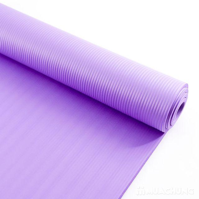 Thảm tập Yoga siêu bền dày 10mm - Tặng túi đựng - 3
