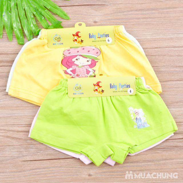 04 quần chíp đùi in hình xinh yêu cho bé - hàng VN - 10