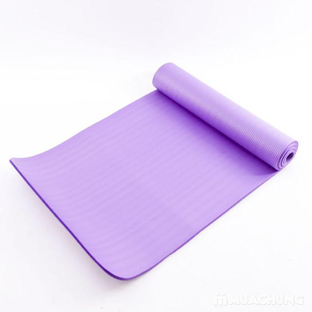 Thảm tập Yoga siêu bền dày 10mm - Tặng túi đựng - 2