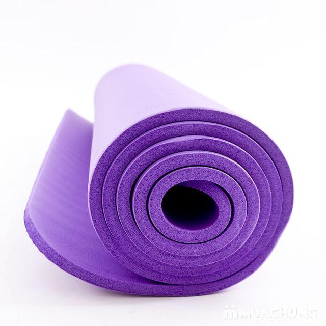 Thảm tập Yoga siêu bền dày 10mm - Tặng túi đựng - 6