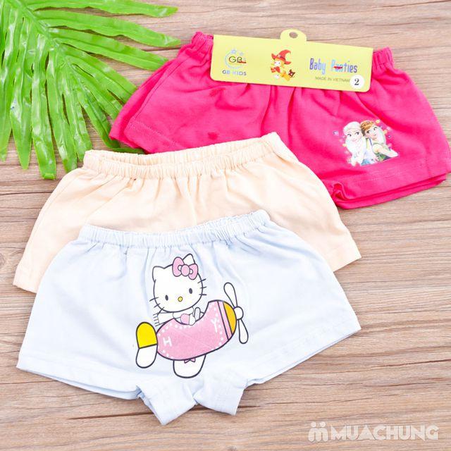 04 quần chíp đùi in hình xinh yêu cho bé - hàng VN - 1