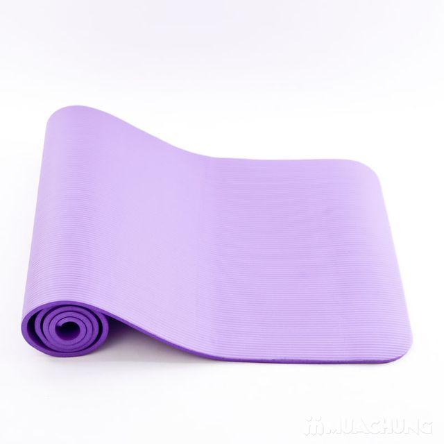 Thảm tập Yoga siêu bền dày 10mm - Tặng túi đựng - 4