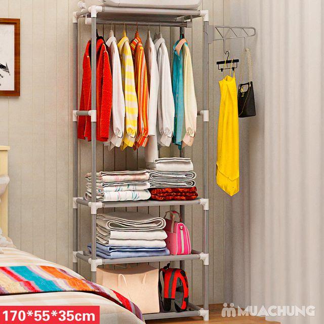 Tủ treo quần áo 4 tầng - 4