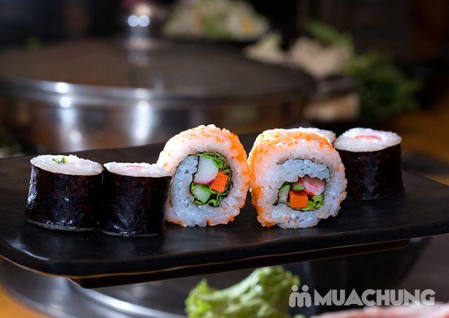 Buffet lẩu hải hải bò Mỹ & sushi Nhà hàng Moon BBQ - 22